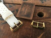 16mm Vintage Dive Watch Band Brass Buckle New Old Stock 1960s/1970s Skindiver