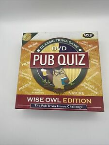 Pub Quiz Board Game Wise Owl Edition DVD Cheatwell Games Trivia Nature Complete