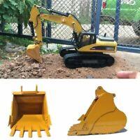 Für Huina 580 336D2 Excavator 1:14 23 Channel RC Auto Simulation Bucket A3 Steel