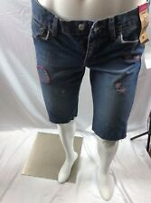 Old Navy Women's Boot Cut Ultra Low Waist Medium Wash Stretch Jeans Size 6
