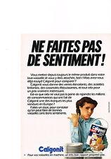 PUBLICITE  1980   CALGONIT    entretien votre lave vaisselle