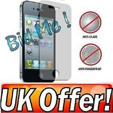 3 x Anti-Glare (Matte) Screen Protectors Cover Film For iphone 4 4G 4S