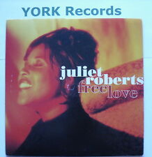 "JULIET ROBERTS - Free Love - Excellent Condition 7"" Single Cooltempo COOL 281"