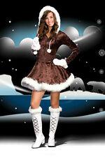 Junior Eskimo Cutie Halloween Costume Women Teen Dress Stretch Clothing medium