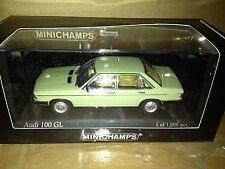 Minichamps 1979 Audi 100 GL 1:43**New Release**