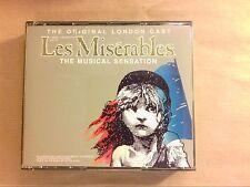 COFFRET 2 CD / LES MISÉRABLES / ORIGINAL LONDON CAST / TRES BON ETAT