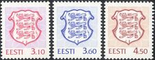 Estonia 1998 State Arms/Lions/Coats-of-Arms/Heraldry/Animals 3v (ee1185)
