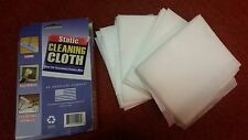 Soft Static Cleaning Cloth Clean Laptop Computer Floor TV Screen Electronics NEW