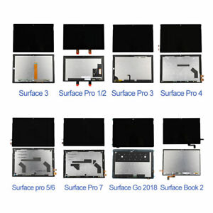 OEM For Microsoft Surface Pro 1/2/3/4/5/6/7 Go Book 2 LCD Touch Screen Display