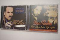 LOT 2 PEPE AGUILAR - La Historia Mis Exitos + DOS IDOLOS - CD and bonus  DVD