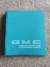 1969 GMC  Dealer advertising and merchandising planner album