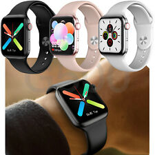 Bluetooth Smart Watch Heart Rate Temperature Monitor For Android Ios Men Women