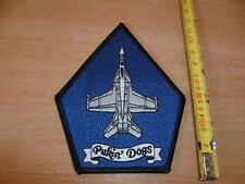(P8) ECUSSON PATCH USA ARMY   PUKIN' DOGS