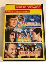 Best of Hollywood: Jumanji / Hook / Matilda (2008) DVD r25