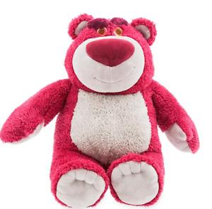 "BNWT Shop Disney Store 15"" Soft Plush LOTSO Huggin' Bear Toy Story Scented"