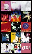 "THE CURE album discography magnet (4.5"" x 3.5"") depeche mode smiths joy division"