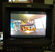 """SONY PVM-8042Q TRINITRON COLOR VIDEO MONITOR - 8"""" - 2001 - **Read Description**"""