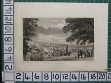1830 DATED ANTIQUE PRINT ~ DARTFORD ~ KENT