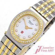 CHOPARD *Monte Carlo* Ref. 8034 - Diamantbesatz - Stahl/18K Gelbgold - Quarz 59g