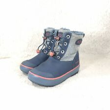 KEEN Waterproof Duckboots Boots Toddlers Unisex Blue Rubber Insulated Size 10C