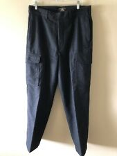 Vintage Men's Ralph Lauren Double R Wool Blend Pants Size 34 x 31
