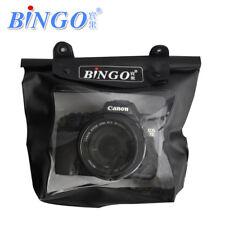 Bingo Waterproof SLR Camera Bag 100mm Lens Underwater 20M Black DryBag