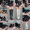 "1/6 Scale Men/Women Black Sport Shoes Boots For 12"" Action Figure Body Hot Toys"