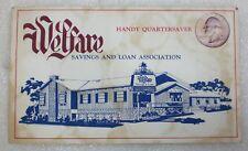 Welfare Savings and Loan Quarter Saver Book Wauwatosa, Wisconsin