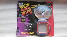 WCW Monday Nitro Buckle & Cage With Hulk & Sting Figures Toymakers 1997 NEW t849