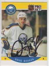Autographed 90/91 Pro Set Doug Bodger - Sabres