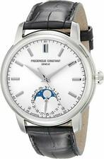 Frederique Constant FC715S4H6 Gents Slimline Leather Automatic Moonphase Watch