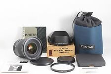 Contax 645 Carl Zeiss Distagon 35mm f/3.5 T* AF Lens with GB-101 & P-Filter