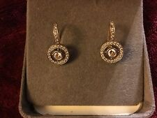 Antique Edwardian Style 1.63 Ct Natural Diamond Earrings