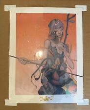 """James Jean """"Erhu"""" Signed and Numbered Giclee Print Limited Edition #323/1003"""