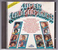 SUPER SCHLAGERPARADE CD VARIOUS POLYSTAR WEST GERMANY © 1986 KACZMAREK...