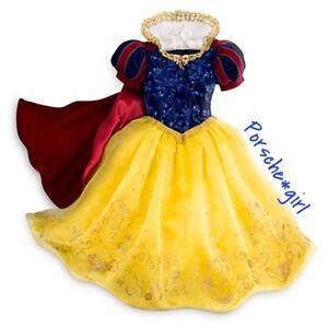 RARE Disney Store Deluxe Snow White Costume 5/6 ONLY 3 LEFT!