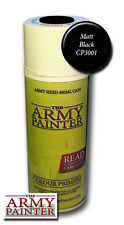 The Army Painter BNIB Base Primer - Matt Black APMB001