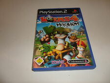 PlayStation 2 Worms 4: Mayhem
