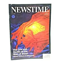 NewsTime The Life and Death of the Man of Steel May 1993