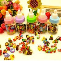 25Pcs Rubber Pencil Eraser Set Stationery Kid Children Novelty Number Animal Toy