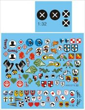 Alliance Model Works 1:32 Bf109 Unit Badges Decal Set #AW037
