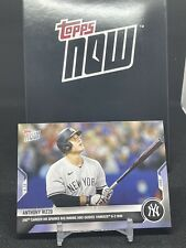 2021 TOPPS NOW® # 883 ANTHONY RIZZO 250th Career HR New York Yankees