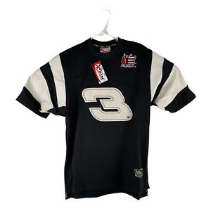Dale Earnhardt #3 Chase Authentics Size Medium Black White Jersey T-Shirt Nascar