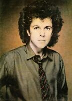 LEO SAYER 1981-1982 WORLD TOUR CONCERT PROGRAM BOOK BOOKLET-NEAR MINT 2 MINT