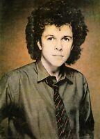 LEO SAYER 1981-1982 WORLD TOUR CONCERT PROGRAM BOOK BOOKLET-NEAR MINT 2 MINT