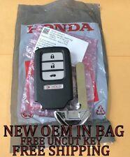 NEW OEM HONDA ACCORD CIVIC SMART KEY PROXIMITY REMOTE FOB 72147-T2A-A11 DRIVER1