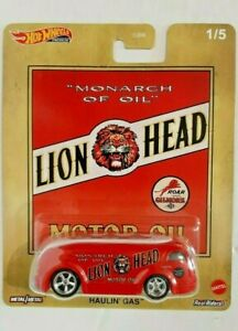 2020-Hot Wheels-Pop-Culture Premium-#1/5 Lion Head-1937 Haulin' Gas-1:64-Boys-3+