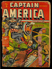 Captain America Comics #8 (Missing CF) Golden Age Nazi WWII Timely 1941 FR*