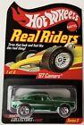 Hot Wheels Red Line Club RLC Series 5 Real Riders '67 Camaro Green #10053/11000