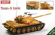 T-55 TIRAN-5 MAIN BATTLE TANK (ISRAELI/IDF MKGS) 1/35 SKIF RARE